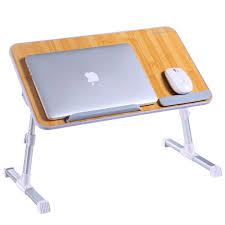 Couch Desk Table Adjustable Laptop Desk Superjare Portable Standing Desk Notebook