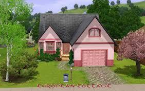 european houses mod the sims european cottage