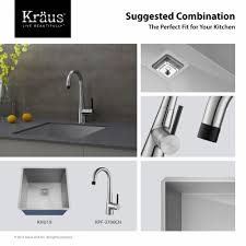 Kitchen Single Handle Faucet by Kitchen Faucet Kraususa Com