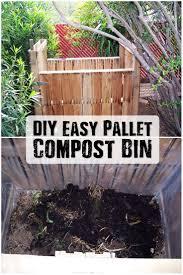 diy easy pallet compost bin shtf prepping u0026 homesteading central