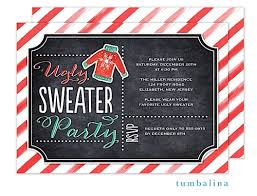 christmas party invitations sweater christmas party invitations new for 2017