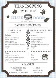 family garden menu menu blue door kitchen