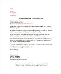 payment reminder letter template 7 free word pdf document