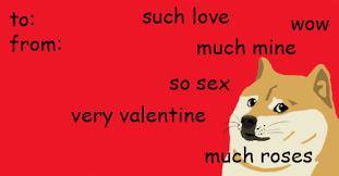 Cute Valentine Meme - gif lol dog drawing illustration art red funny gifs cute artist