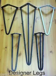 vintage hairpin table legs hairpin table legs 4 34 designer vintage 10 12mm price per leg