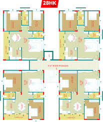 750 sq ft 1 bhk 2t apartment for sale in hi vision residency