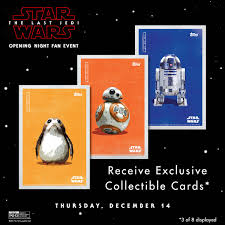 opening night fan event star wars the last jedi arclight cinemas on twitter be the first to see starwars