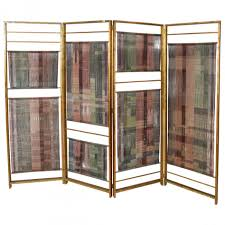 Vintage Room Divider Furniture Extraordinary Screen And Bamboo Vintage Room Divider As