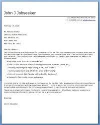 cover letter for resume for internship cover letter for