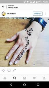 butterfly simple henna designs henna design