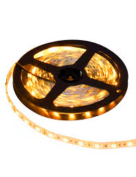 yellow led strip lights led strip light 3528 yellow indoor es strp3528a60 id yellow led
