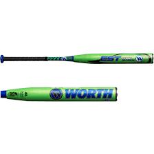 worth softball bats est balanced usssa slowpitch softball bat 2018