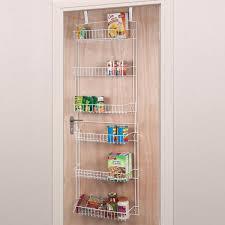 kitchen cabinet door storage racks everyday home 60 in x 19 in x 5 in 6 tier steel hanging
