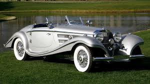 mercedes vintage mercedes 540k special roadster cabriolét 1936 szenerie