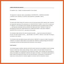 10 11 simple contract leterformat