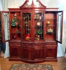 mahogany corner bookcase furniture endearing corner china hutch with glass window door