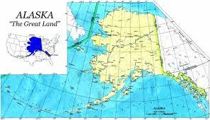 alaska on map alaska charter boats