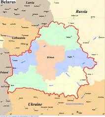 russia map belarus belarus map belarus mappery