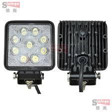 2 inch led spot light 2 pcs 4 inch 27w led work light work l 4x4 offroad driving light