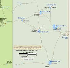 Botswana Map The Ultimate Guide To Mabuasehube Kalahari Camping In Botswana