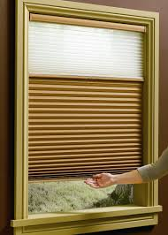 Cordless Window Shades Hunter Douglas Duette Honeycomb Shade With Literise Cordless