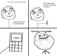 Forever Alone Meme Face - alone forever alone meme sad image 500560 on favim com