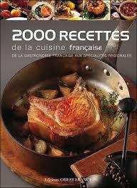 fnac livres cuisine 2000 recettes de la cuisine française cartonné collectif achat