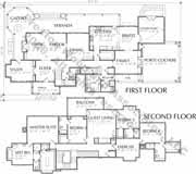 style home plan c9298