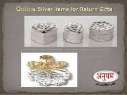 silver gift items silver items for return gift