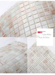 Wholesale Glass Mosaic Tile Squares Red Rose Pattern 304 by Crystal Glass Wall Tiles Mirror Tile Backsplash Kitchen Ideas