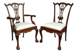 Chippendale Chair by Classic Chippendale Dining Chair Made From Solid Mahogany