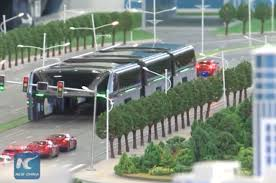 concept bus china u0027s u0027land airbus u0027 will let you drive directly under a bus