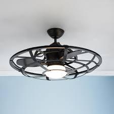 Mini Ceiling Fan With Light Imposing Orbit Brushed Orbit Brushed Nickel