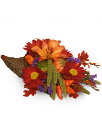 bountiful cornucopia thanksgiving bouquet basket arrangements
