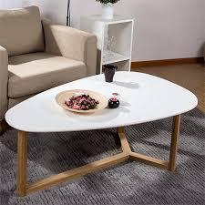 White Oval Coffee Table Oval White Coffee Table Cursosfpo Info