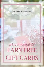 free gift cards online simple ways to earn free gift cards