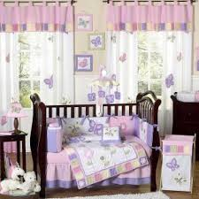 Lavender Butterfly Crib Bedding Butterfly Pink Lavender Bedding By Jojo Designs Butterfly Baby