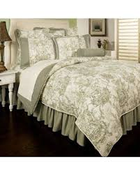 California King Comforter Sets On Sale Fall Savings On Sherry Kline Country Toile Reversible California