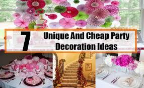 cheap decorations 7 unique and cheap party decoration ideas decoration ideas