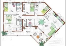 plan de maison 4 chambres gratuit plan de maison 5 chambres plain pied gratuit 1016594 exemple plan