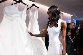 wedding dress daily wedding dress designer amsale aberra picks out gown for meghan