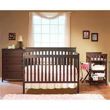 sorelle crib with changing table sorelle petite paradise 4 in 1 crib changing table with her and