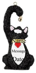 personalized cat ornaments rainforest islands ferry