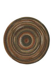 Braided Rugs Round by Brown Hues Manchester Braided Rug Cottage Home