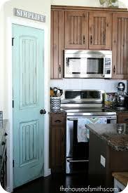 Black Interior Paint Pretty Painted Pantry Door