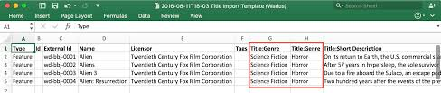 Flags Importer Com Bebanjo U2013 User Guides How To Import And Export With Excel