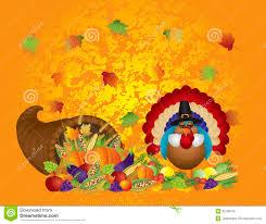 thanksgiving day feast cornucopia turkey pilgrim w royalty free