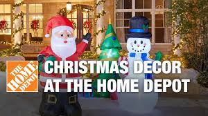 2017 christmas decorations at the home depot youtube