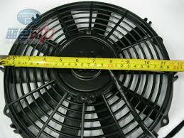 10 inch radiator fan universal auto radiator fan 12v china mainland system