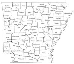 state of arkansas map map resources for montgomery county arkansas